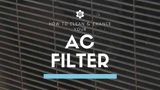 how to clean change your air conditioner filter. Black Bedroom Furniture Sets. Home Design Ideas