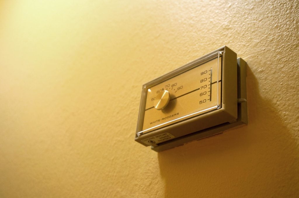 AC thermostat