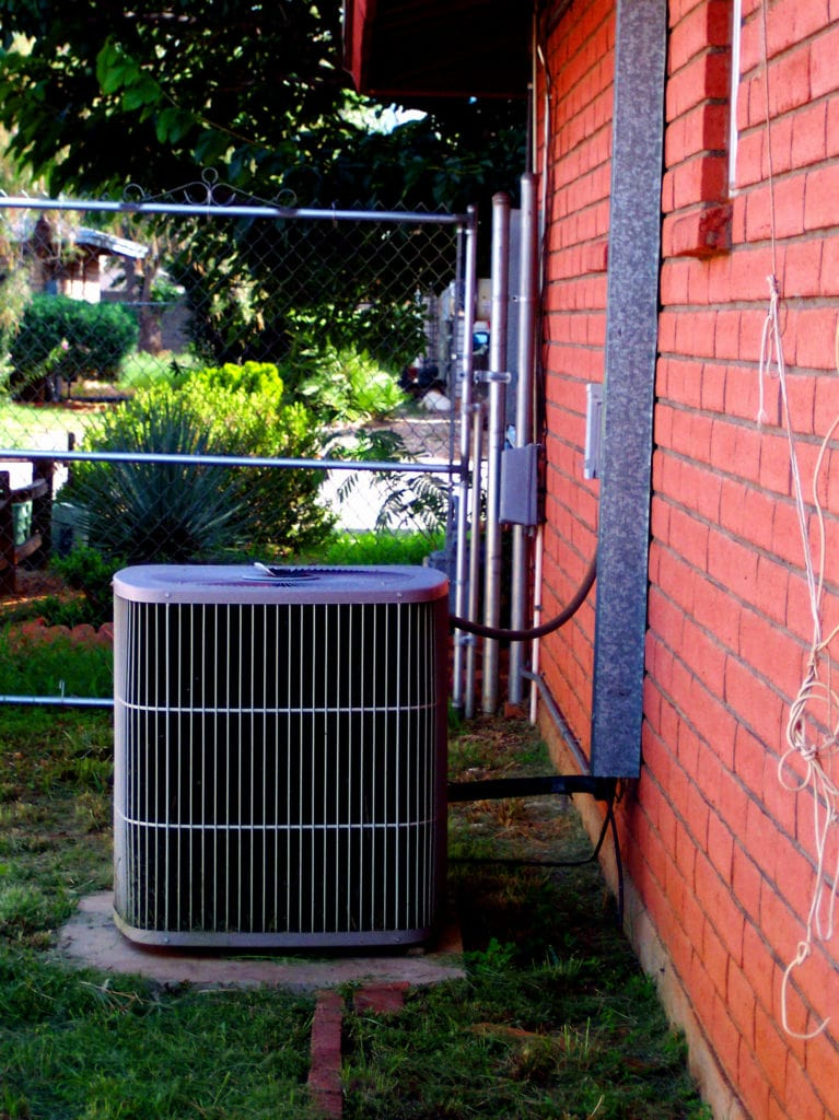 central air conditioner condenser