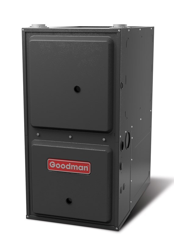 Image of Goodman forced air furnace