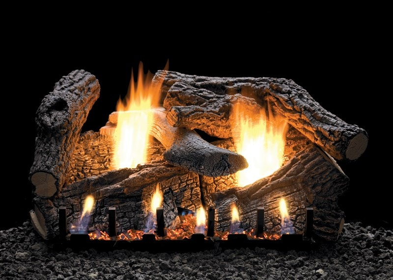 "White Mountain Hearth 24"" Super Sassafras Vent-Free Gas Log Set"