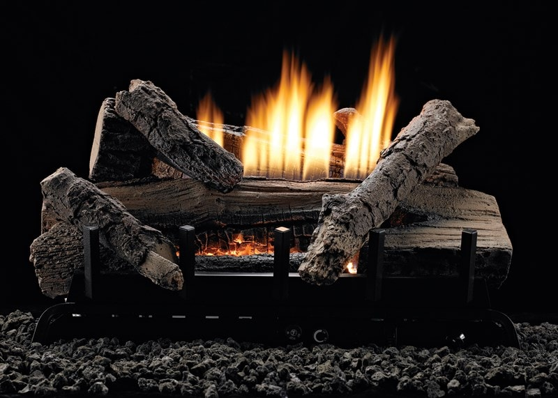 What's the difference between vented and vent free gas logs? Learn the benefits of vented vs vent free gas logs to make a smart purchase for your home.