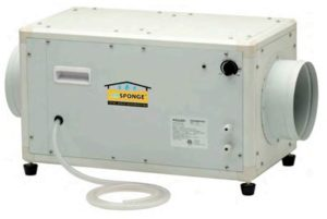 Dehumidifier for grow room