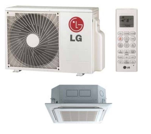 Image of LG LC127HV4 ceiling cassette mini split