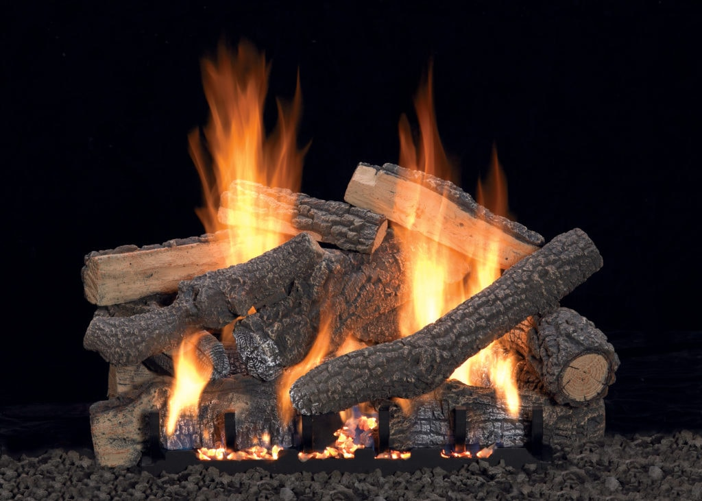 Image of White Mountain Hearth Ponderosa Log Set