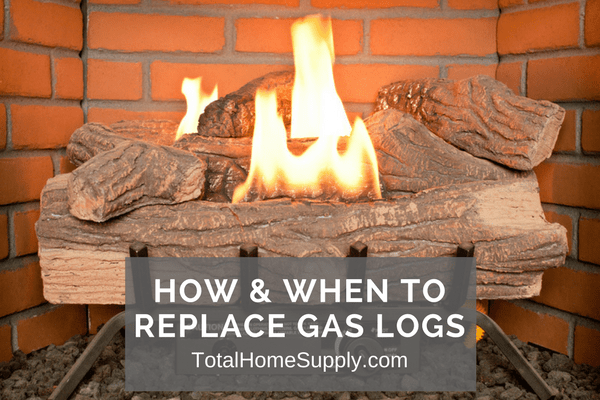 Unsure of when to replace gas logs? In this blog post