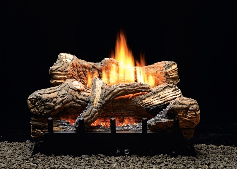 Image of White Mountain Hearth Flint Hill Vented/Vent Free Gas Log Set