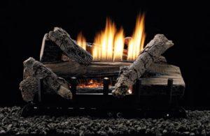 White Mountain Hearth gas logs