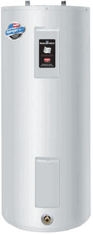 Bradford White RE340S6-1NCWW 40 Gallon Upright Electric Water Heater, 240 Volt/4500 Watts