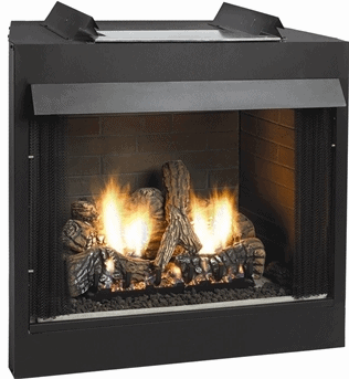 White Mountain Hearth VFD32FB0F Deluxe 32 Breckenridge, Vent-Free Firebox with Flush Face