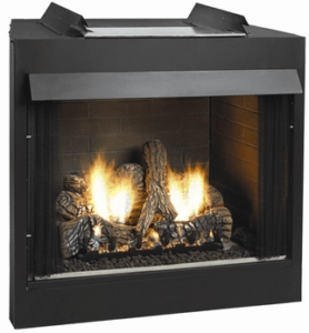 White Mountain Hearth VFD32FB0F Deluxe 32 Breckenridge