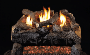 RH Peterson Real-Fyre Evening Fyre Charred Log Set