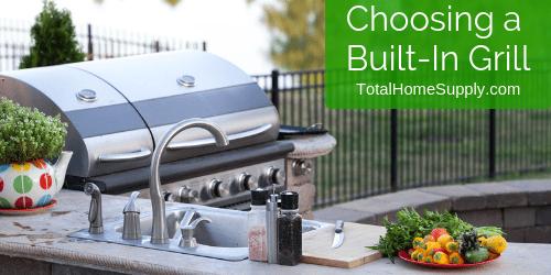Choosing a built-in grill