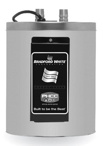 Bradford White 2 Gallon Electric Utility Water Heater, 120 Volt